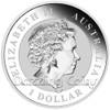 2014 1 oz Silver Coin - Australian Stock Horse Perth Mint