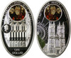 Niue Silver $1-8 coins World Gothic Cathedrals 2010-11