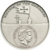 CRUSADE  Silver Coin 5$ Cook Islands