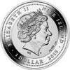 QING DYNASTY VASE Real Porcelain 1 oz Silver Coin 1$ Niue 2016
