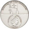 History of the Crusades -  Silver Coin 5$ Cook Islands