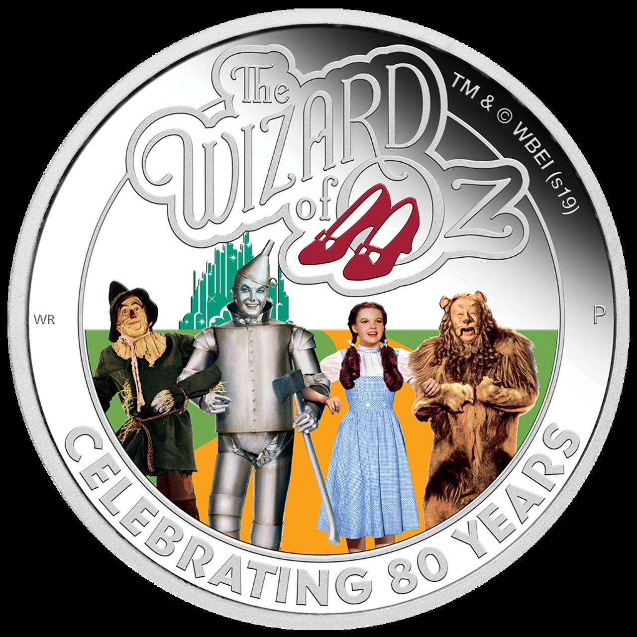 Tuvalu 2019 2 Dollar ALIEN™  40th Anniversary 2 Oz Silver Coin Perth Mint