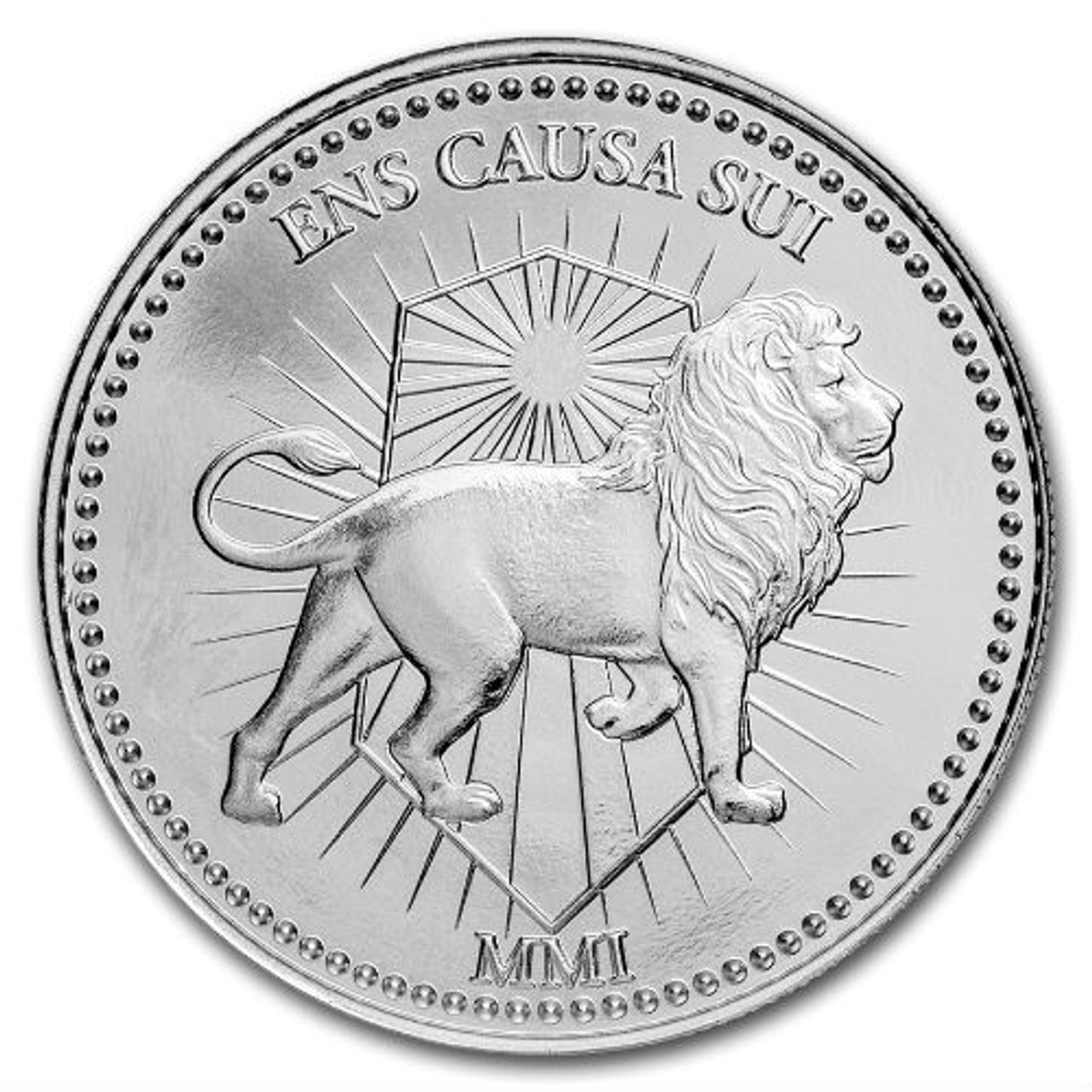 John Wick Continental Coin 1oz Silver BU Round