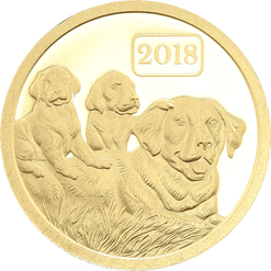 2018 Mongolia 100 Lunar Togrog Year of the Dog 5g Silver.999 Note