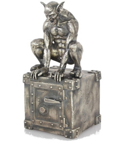 GODRIC The GARGOYLE – 13 oz Silver 3D STATUE with Serial Number