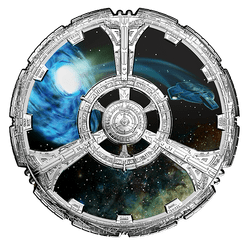 STAR TREK – DEEP SPACE NINE – 2018 $20 1 oz Proof Silver Coin (DC202370) (view)