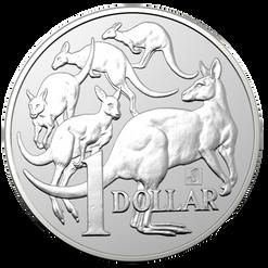 MOB OF ROOS 1 oz coin BU 2019 Australia