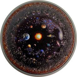 UNIVERSE Space Final Frontier 3 Oz Silver Coin $20 Palau 2019