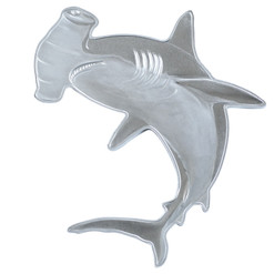 Great HAMMERHEAD SHARK 1 oz Silver Coin $2 Solomon Islands 2020