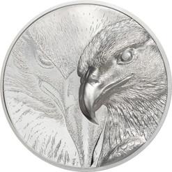 MAJESTIC EAGLE 3 oz Silver Proof Coin 2000 Togrog Mongolia 2020