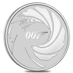 JAMES BOND 007™ - 1 oz Premium bullion coin Tuvalu 2020