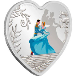 Disney CINDERELLA 70th. Anniversary 1 oz Silver Proof Coin Niue 2020