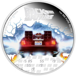 BACK TO THE FUTURE 35th. Anniversary 1 oz Silver Proof Coin Niue 2020