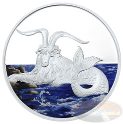 2015 Tokalau 1 oz Silver Coin - Capricornus Color Edition