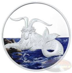 2015 Tokalau 1 oz Silver Coin - Capricornus Color Edition