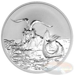 2015 Myth & Legend - Capricornus 1oz Silver Reverse Proof Tokelau Coin