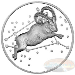 2015 Myth & Legend - Aries 1oz Silver Proof Tokelau Coin