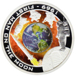 $1 1969 First Man On The Moon Cook Islands 2009