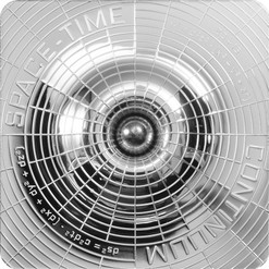Space-Time Continuum Prooflike Silver Coin $2 Cook Islands 2015