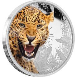 JAGUAR - Kings of Continents - 1 oz Silver Coin Niue 2016