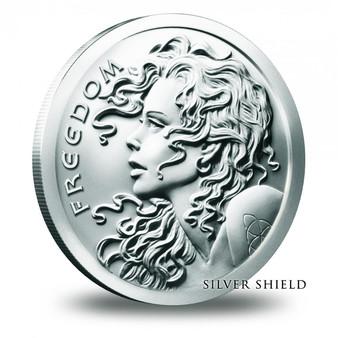 2016 Silver Shield Freedom Girl 1 oz Silver BU