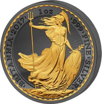 GOLDEN ENIGMA – Premium Edition– 30 Years BRITANNIA UK 2017 r
