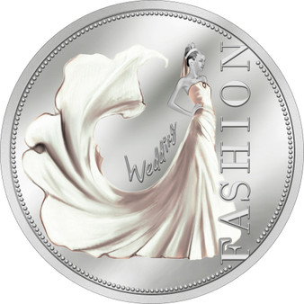 Fashion - Wedding Silver Proof $1 Niue 2013