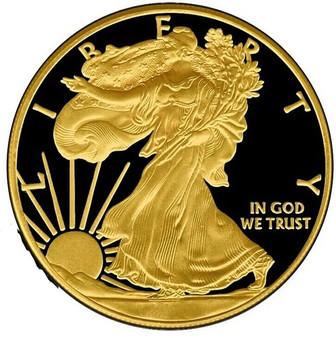 WALKING LIBERTY - GOLD BLACK EMPIRE – 2018 1 oz Silver Coin