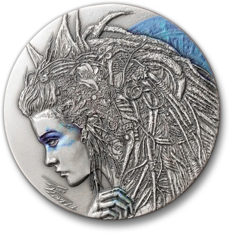CASSANDRA Dark Beauties Silver Coin 2$ Niue 2018