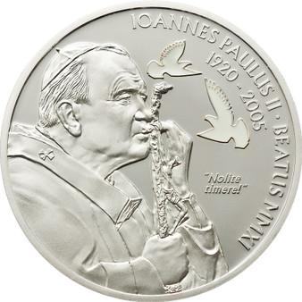 Beatification of John Paul II. Silver Coin 2$ Palau 2011