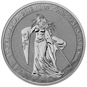 2019 GERMANIA 5 Mark 1 Oz 999 Silver Coin