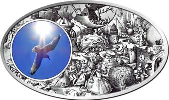 SUPERBIA Seven Vices, Queen Elizabeth  Silver Coin  Niue 2013