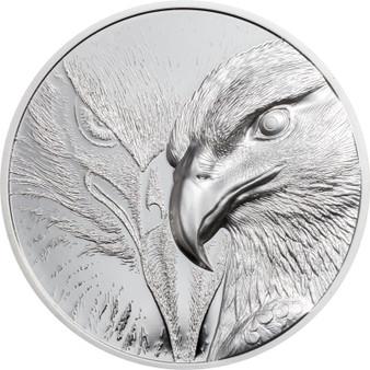 MAJESTIC EAGLE 1 oz Silver Proof Coin 500 Togrog Mongolia 2020