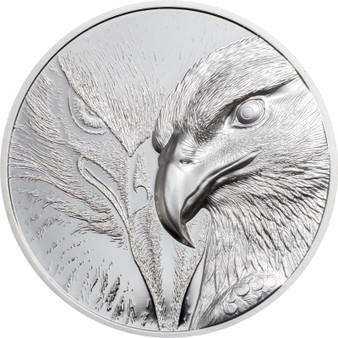 MAJESTIC EAGLE 1 oz Silver Proof Coin 500 Togrog Mongolia 2020