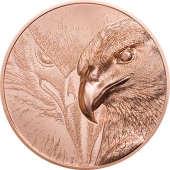 MAJESTIC EAGLE 1 oz Copper Coin 250 Togrog Mongolia 2020