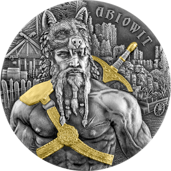 ARIOWIT Warriors 2 oz High Relief Silver Coin 10 Mark Germania 2020