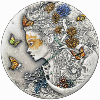 NASTASIYA Dark Beauties Silver Coin 2$ Niue 2020