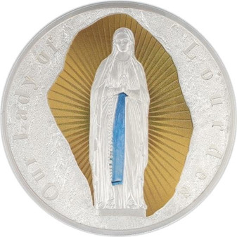 Our Lady of Lourdes Coin $1 Tokelau 2019