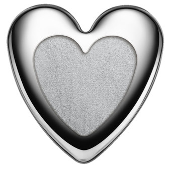 HEART Shape Silver Bar 50 Gr