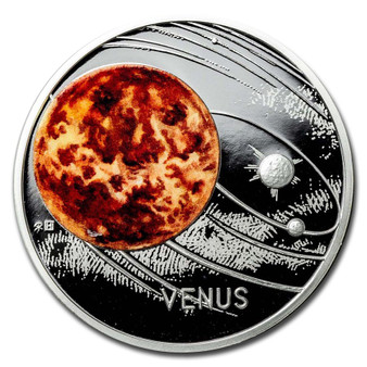 VENUS Solar System 1 oz Silver Proof Coin Niue 2020