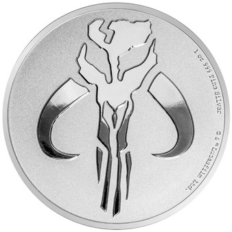 MANDALORIAN MYTHOSAUR™ STAR WARS™ 1 oz Silver $2 2020 Niue