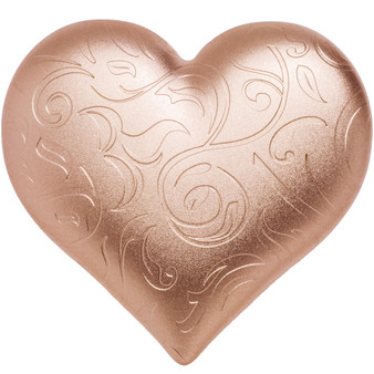 ROSY HEART 3D Shape 1 oz Silver Coin $5 Palau 2021