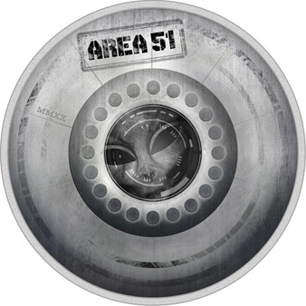 AREA 51 UFO Alien Great Conspiracies 2 Oz Silver Coin 10$ Palau 2020