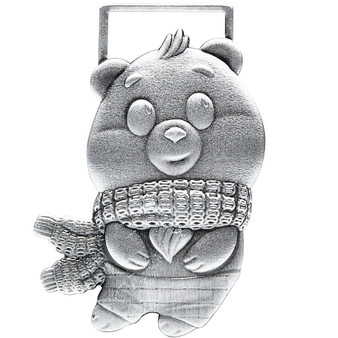 TOMMY BEAR Pure Silver Special Shape Coin Chad 2021