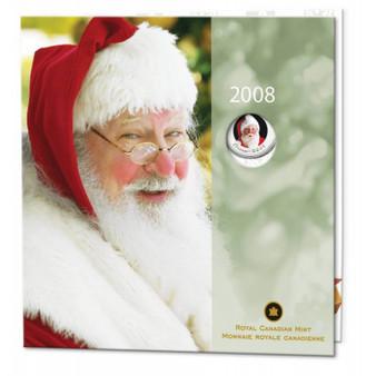 Holiday Gift Santa Claus Coin Set 2008 Canada