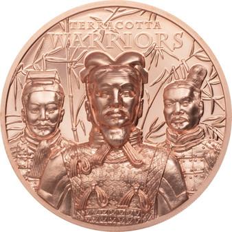 TERRACOTTA WARRIORS Copper Coin Cook Islands 2021