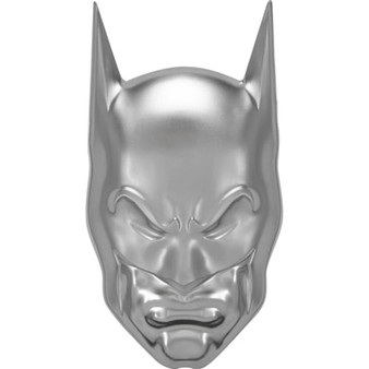 BATMAN™ - COWL 2 oz. Proof Ultra High Relief Silver Coin Niue 2021