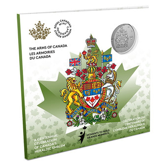 ARMS OF CANADA – MOMENTS TO HOLD – $5 Silver Coin Canada 2021