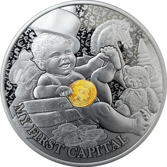 MY FIRST CAPITAL My First Treasures Silver Proof Coin $1  Niue 2021