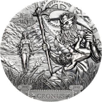 CRONUS Titans 3 oz Silver Coin $20 Cook Islands 2021